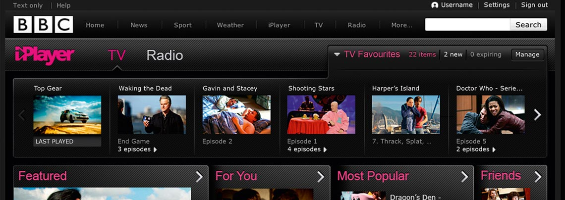 BBC Three and iPlayer
